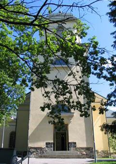 vihdin kirkko, jonka portailla rippikuva otettiin
