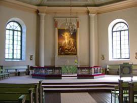 kirkossa oli harras tunnelma